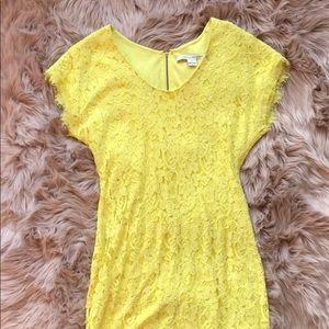 DVF Limoncello Dress